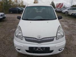 Toyota Yaris Verso, Минивэн | 2
