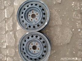 Toyota Corolla Verso steel stamped rims | 0