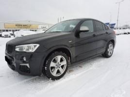 BMW X4, 3.0 l., visureigis | 0