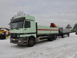 Mercedes-Benz 2543 PK17000, Su kranu | 2