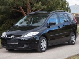 Mazda 5, 2.0 l., vienatūris | 1
