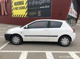 Toyota Corolla, 2.0 l., hečbekas | 2