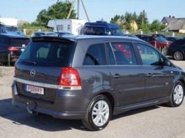 Opel Zafira, 1.7 l., vienatūris   2