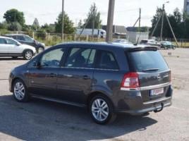 Opel Zafira, 1.7 l., vienatūris   3