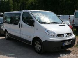 Renault Trafic, Keleiviniai iki 3,5 t   1