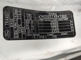 Ford transit, Krovininiai iki 3,5 t   2