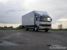 Mercedes-Benz 1223 furgonas 1999,  Šiauliai
