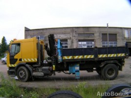 Renault 210.18 dumperwithcrane 1998,  Plungė