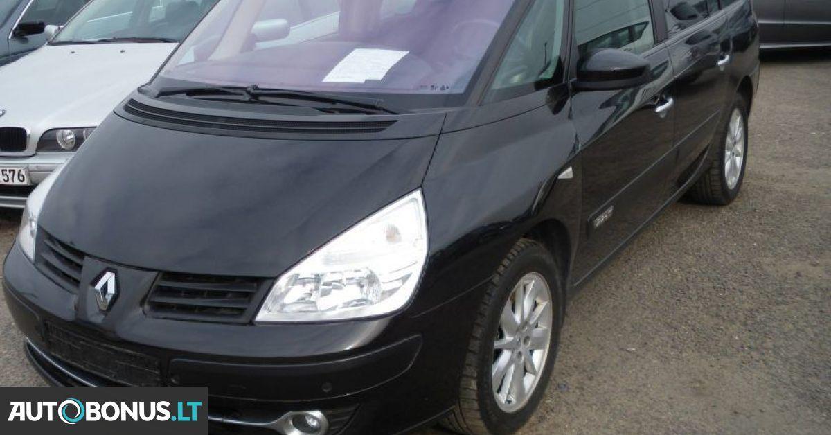 Renault Espace, sedanas, 2007 m. | 111822 | Autobonus.lt