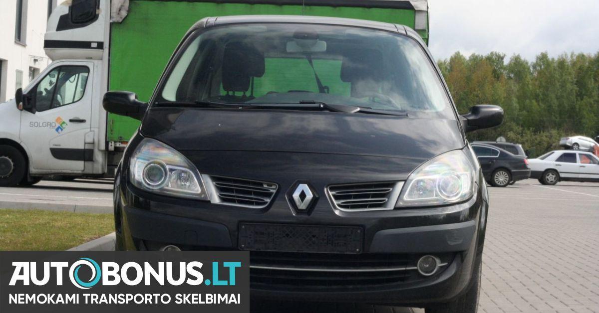 Renault Grand Scenic, 1.6 l., vienatūris, 2009-03-02 m. | 129325 | Autobonus.lt