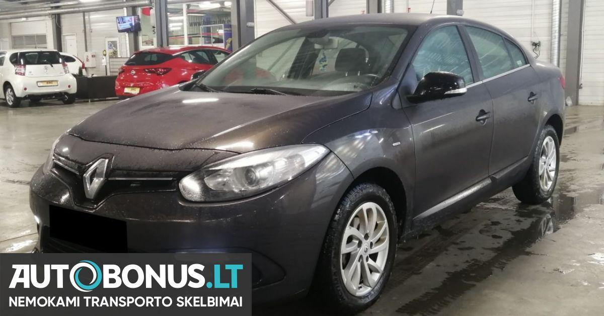 Renault Fluence 1 5 L Saloon 2015 M 169158 Autobonus Lt